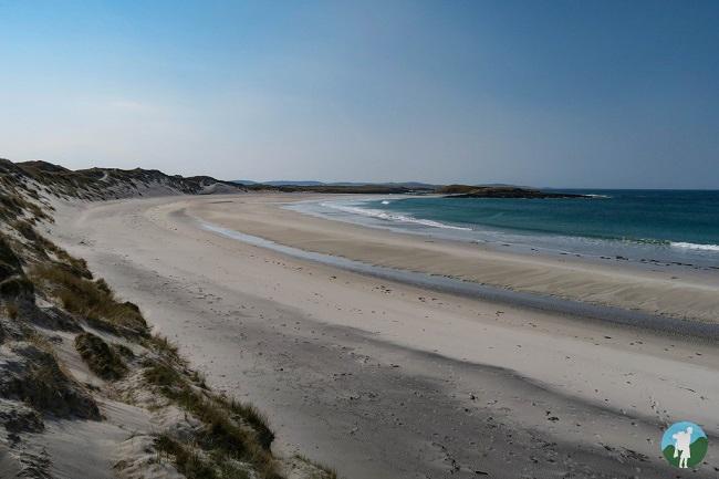north uist beaches west coast