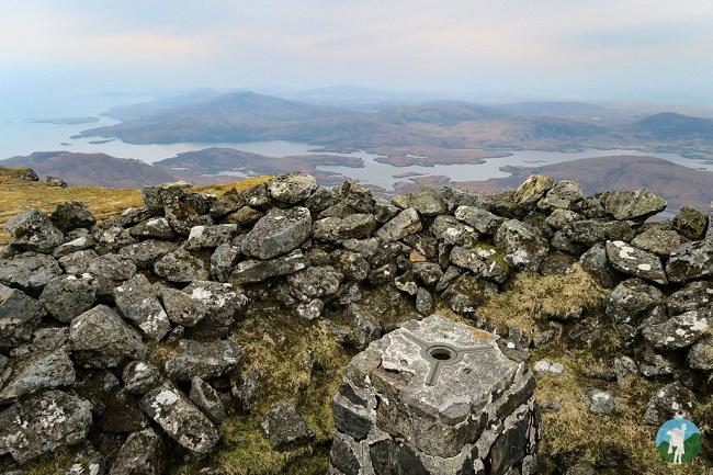 beinn mhor summit scotland
