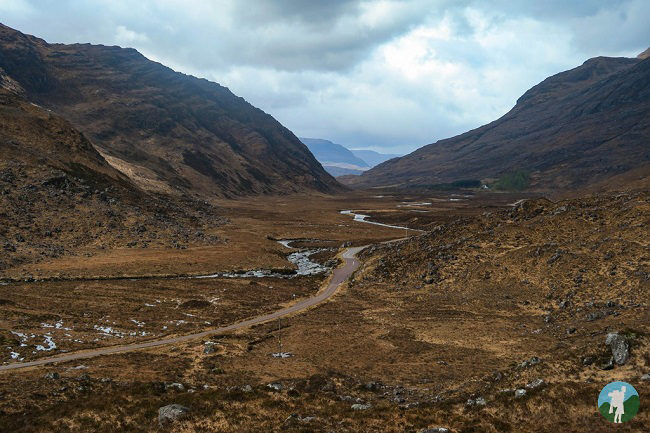 glen torridon north coast 500 campsites