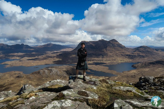 travel blog lochinver walks