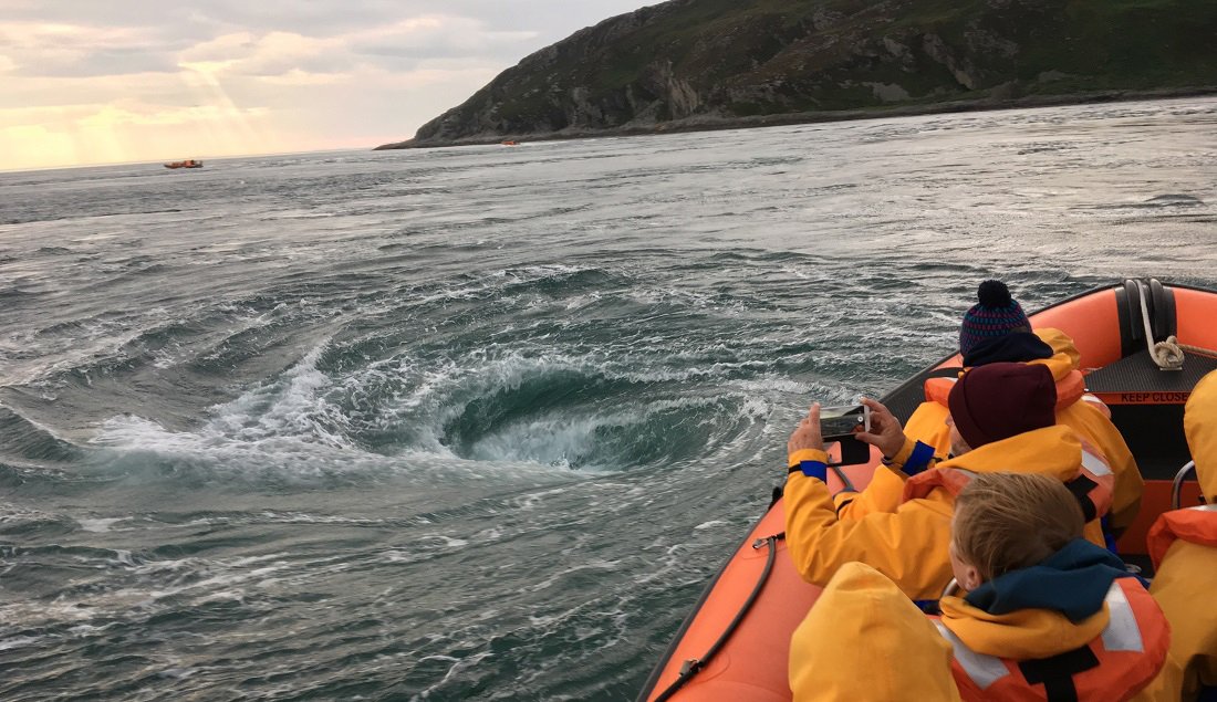 Corryvreckan Boat Trips and the Hunt for a Certain Whirlpool