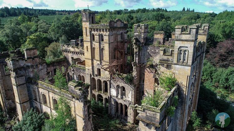 derelict places scotland lennox castle