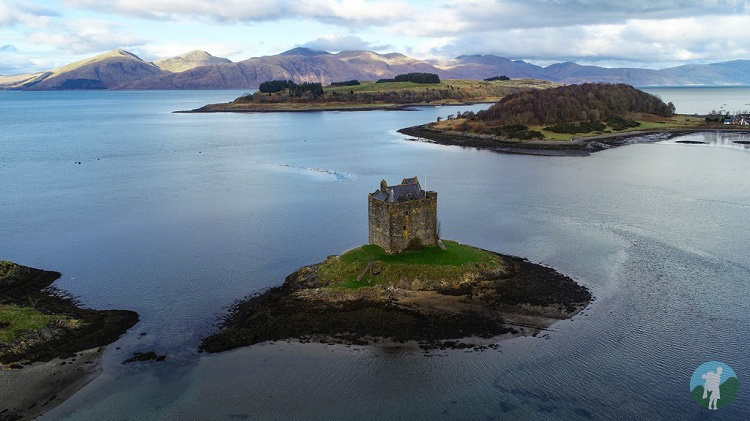 drone castle stalker argyll