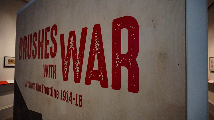 brushes with war kelvingrove
