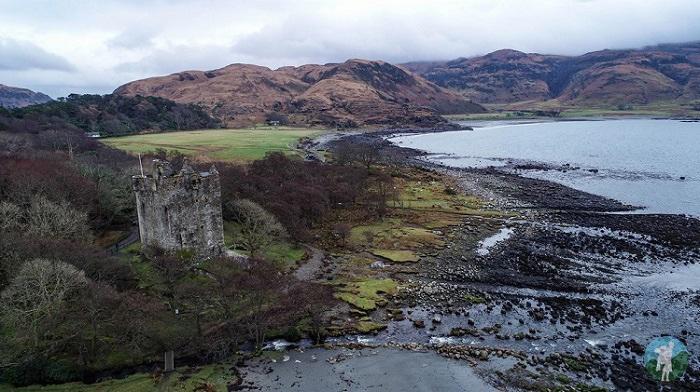 moy castle drone