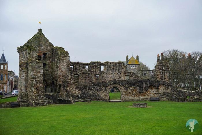 st andrews castle fife ruins