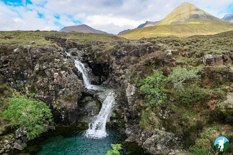 skye scotland waterfall itinerary