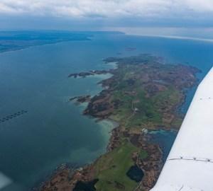 islay flight over gigha
