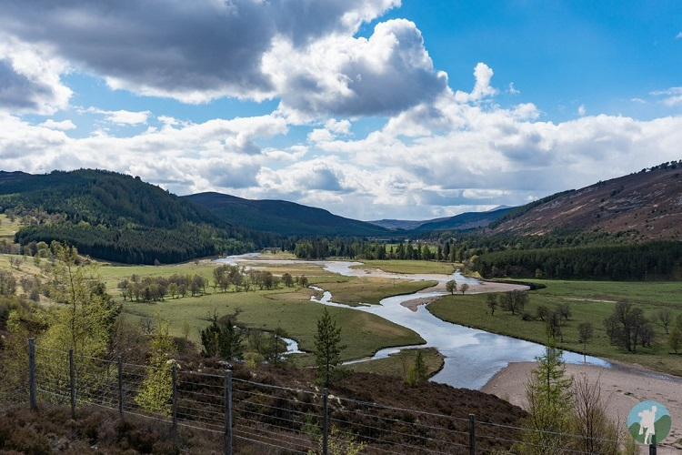 cairngorms landscape things to do aberdeenshire