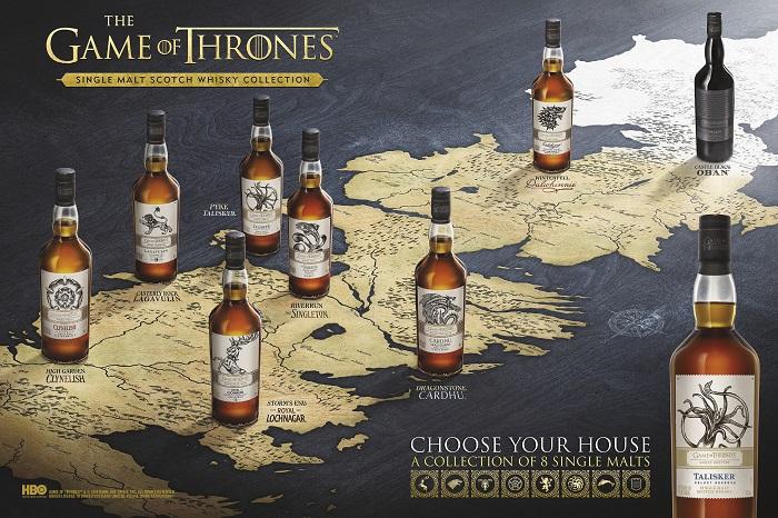 game of thrones diageo