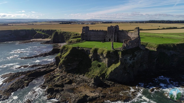 tantallon castle drone