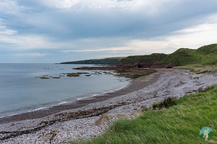 new aberdour beach north east