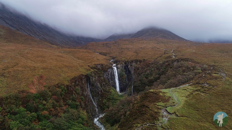 eas mor skye west coast scotland holidays