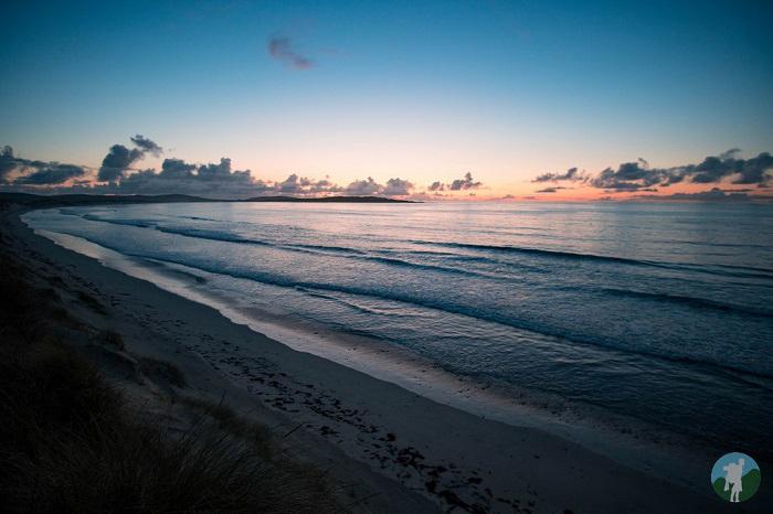 north uist sunset 14 day scotland itinerary
