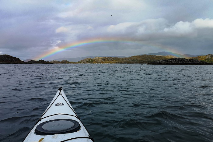 west coast scotland road trip kayaking