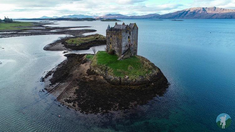 drone castle stalker