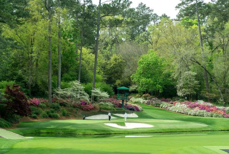 The Masters Tournament at Augusta National Travels with Bibi