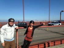 Golden gate bridge with Ben