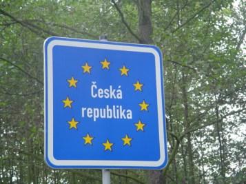 2005 CZ Czech border sign 02