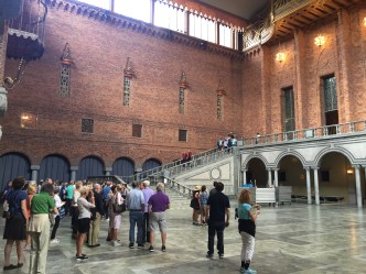 Main hall where Nobel banquet is held