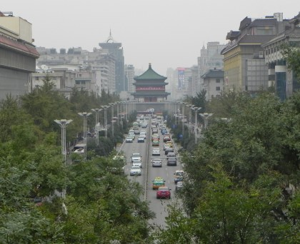 Xi'an, Xian, Bell Tower, City Walls