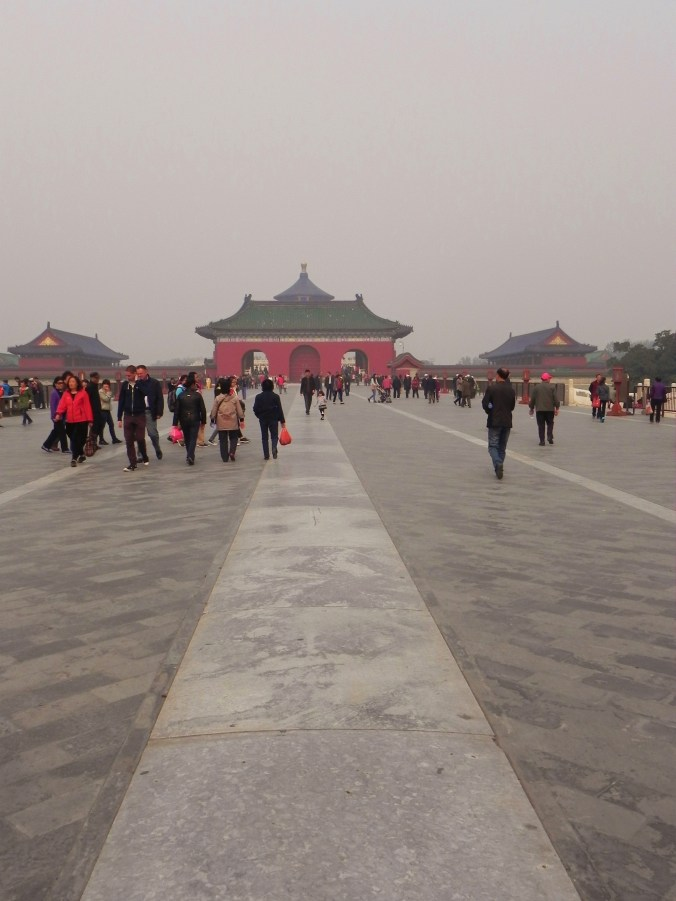 Beijing, Temple of Heaven, Causeway