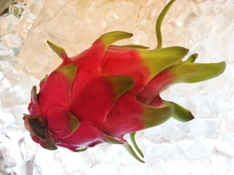 Chongqing, Intercontinental Hotel, lunch, food, dragon fruit