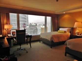 China, Hong Kong, Conrad Hilton, room