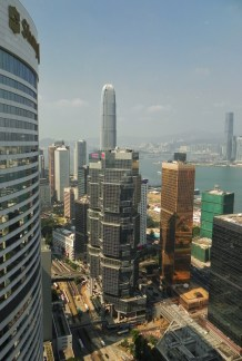 China, Hong Kong, Kowloon, Harbor, Conrad Hilton, view from Executive Suite, Executive Suite
