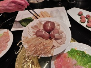 Chongqing, Cygnet, Hot Pot, Restaurant, food, vegetables, meatballs
