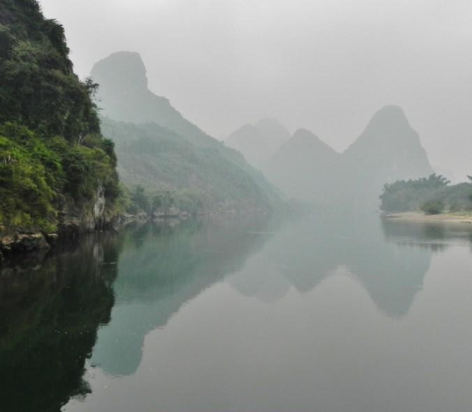 Guilin, Li River, river, karst, mountains