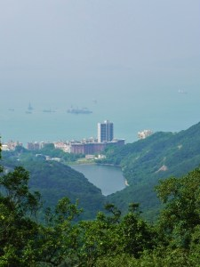 China, Hong Kong, Victoria Peak, view, Repulse Bay