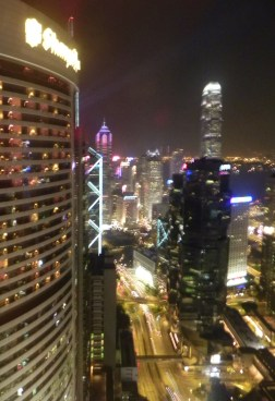 China, Hong Kong, Conrad, Executive Suite, night view