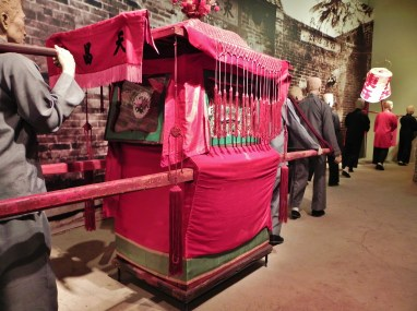 China, Hong Kong, Hong Kong Museum of History, Bridal Sedan Chair