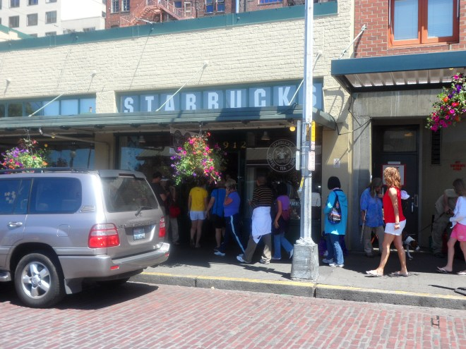 The first Starbucks was in Seattle