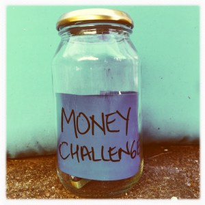 My money challenge for this year!