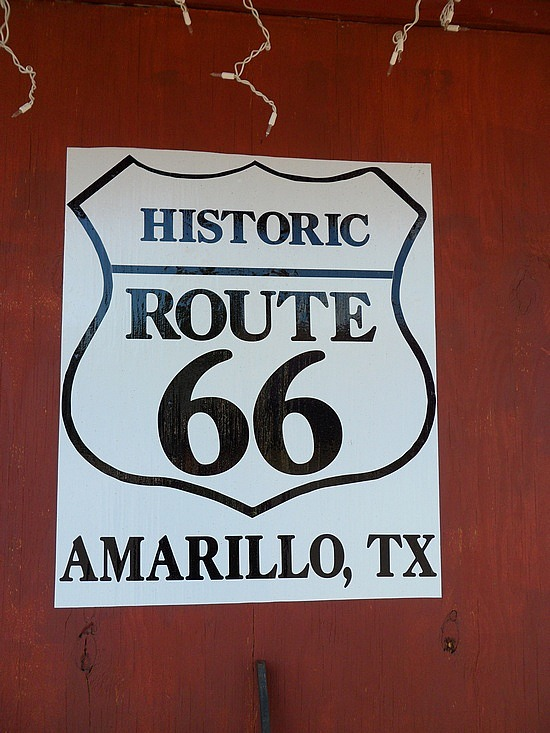 Dallas to Amarillo, Texas to Santa Fe, New Mexico, U.S.A.