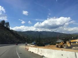 I-5 Highway construction
