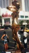 The Midas Touch on the Strip, Las Vegas, USA.