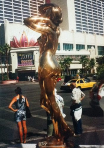 The Midas Touch on the Strip, Las Vegas, USA.