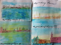 Sketches of my approach to Venice
