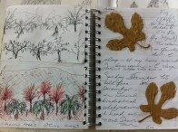 A page from my Damascus Sketchbook
