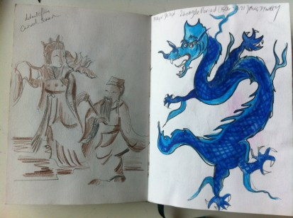 Page from my Hong Kong Sketchbook