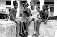 Young girls in Havana, Cuba.