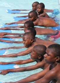 Isamilo Saturday School - Swimming lesson