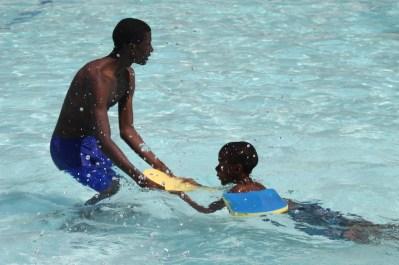 Isamilo Saturday School - Swimming lesson