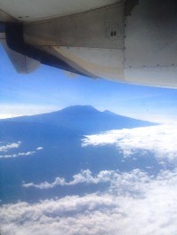Kilimanjaro from seat 11D
