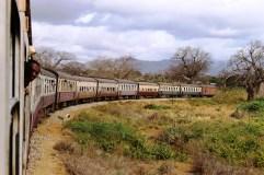 On the train from Mwanza to Dar, Tanzania