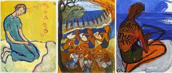 Paintings from Charlotte Salomon's Life or Theatre collection