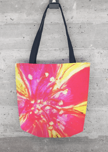 Tote Bag - Hibiscus Swirl by VIDA VIDA tnuOk